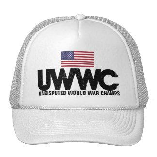 Unbestrittene Weltkrieg-Champions Baseball Kappe