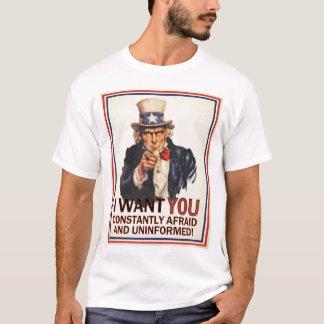 Uncle Sam Anti-Propaganda Shirt