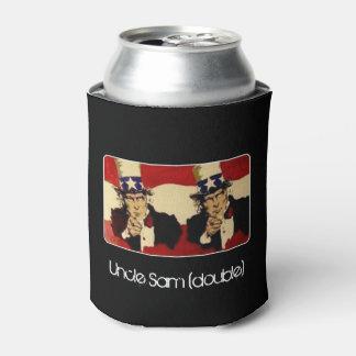 """""""Uncle Sam (Doppeltes)"""" auf a Dosenkühler"""