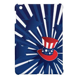 Uncle Sam Hut und Sterne iPad Mini Hülle