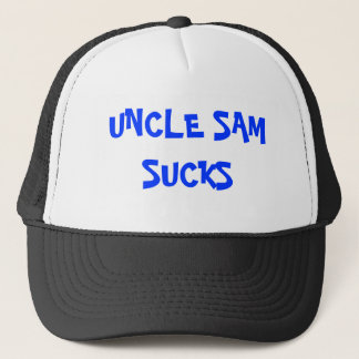 Uncle Sam Ist zum Kotzen Hut Truckerkappe