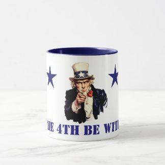 Uncle Sam Juli 4. Tasse