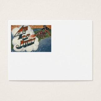 Uncle Sam Kanonen-Feuer spielt Juli 4. die Visitenkarte