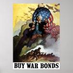 Uncle Sam -- Kaufen Sie Kriegs-Bindungen Plakatdrucke