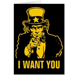 Uncle Sam Kundengerechte Karte