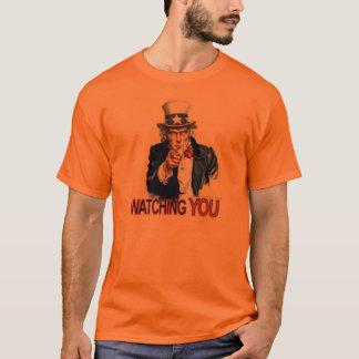 Uncle Sam Passt Sie auf T-Shirt