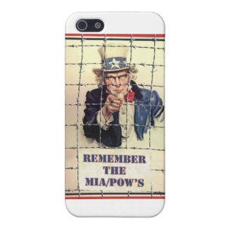 Uncle Sam POW-MIA iPhone 5 Etui