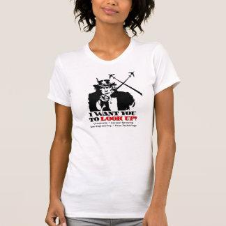 Uncle Sam Sagt dass ich Sie will um oben zu scha T-Shirts