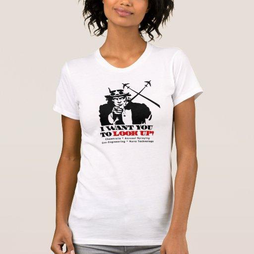 Uncle Sam Sagt, dass ich Sie will, um oben zu scha T-Shirts