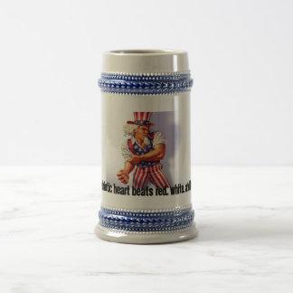 UncleSam_normal, mein patriotisches Bierglas