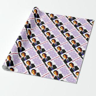 Und die ist die Frage - Barack Obama Geschenkpapier
