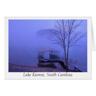 Und die Nebel-Sets in… (See Keowee) Karte