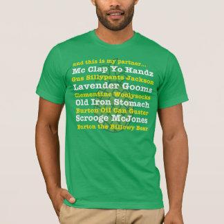 und dieses ist mein Partner… Gus-Spitzname-T-Stück T-Shirt