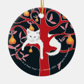Und ein Perser in einem Birnen-Baum… Keramik Ornament