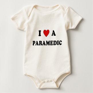 Und i-Liebe ein Sanitäter Baby Strampler