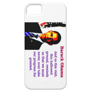 Und so dieser Besuch - Barack Obama Barely There iPhone 5 Hülle