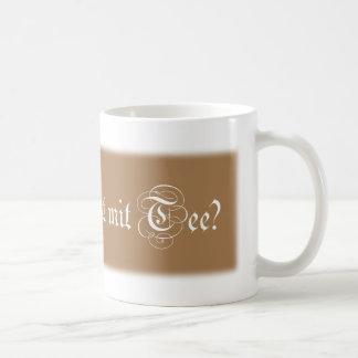 Und was ist mit Tee? Kaffeetasse