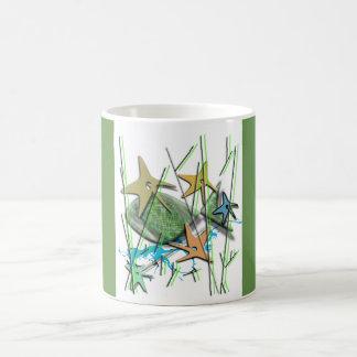 Under water motif kaffeetasse