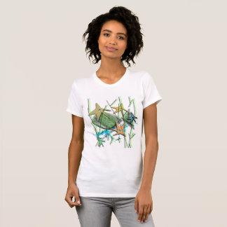Under water motif T-Shirt