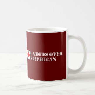 Undercover Amerikaner Kaffeetasse