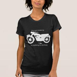 Undichtes Öl des klassischen britischen Motorrades T Shirt