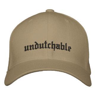 undutchable bestickte kappe