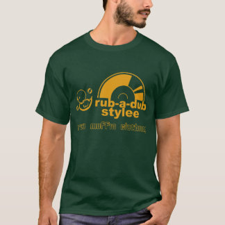 Unebenheit-EIN-Tollpatsch Stylee (Gold) T-Shirt
