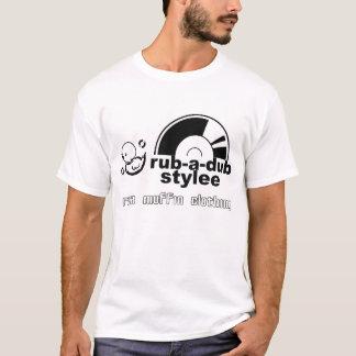 Unebenheit-EIN-Tollpatsch Stylee (Schwarzes) T-Shirt