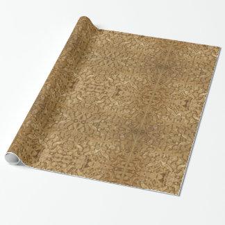 Unendlichkeit im glatten SteinPackpapier, Geschenkpapier