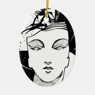 Unendlichkeit Keramik Ornament