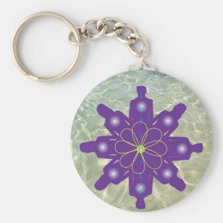 Unendlichkeits-Blume Schlüsselanhänger