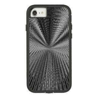 Unendlichkeits-Feed-back-Schwarzes u. Weiß Case-Mate Tough Extreme iPhone 8/7 Hülle