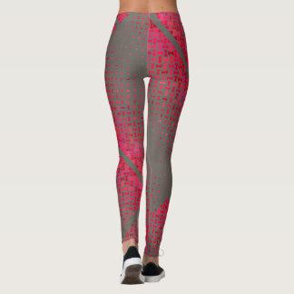Unendlichkeits-Muster-graues Frauen-Yoga/Turnhalle Leggings