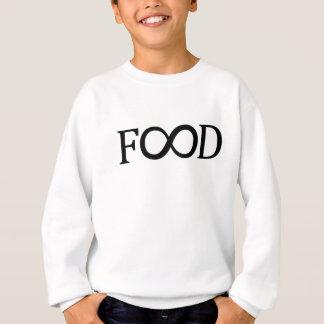 Unendlichkeits-Nahrungsmittelmädchen-Sweatshirt Sweatshirt