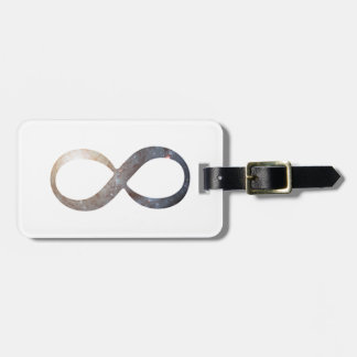 Unendlichkeits-Symbol Kofferanhänger