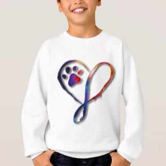 Unendlichkeits-Tatze Sweatshirt