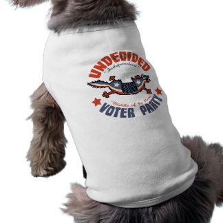 Unentschiedener Wähler-Party-Maskottchen Shirt