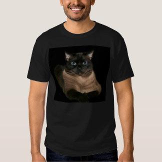 Unergründliche siamesische Katze T Shirt