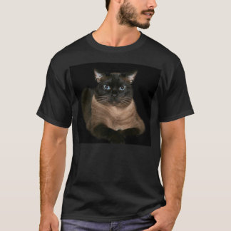 Unergründliche siamesische Katze T-Shirt