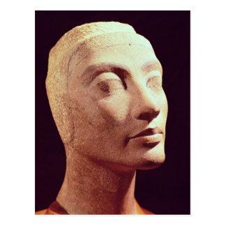 Unfertiger Kopf von Nefertiti, neues Königreich Postkarte