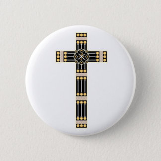 ungarische katholische runder button 5,1 cm
