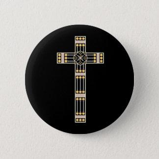 ungarische katholische runder button 5,7 cm