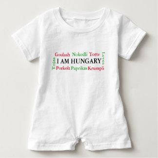 Ungarische Nahrungsmittel Baby Strampler