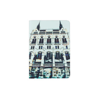 Ungarische Parlamentsmalerei Passhülle