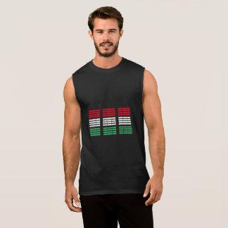 Ungarischer Flaggenentwurf Ärmelloses Shirt