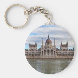 Ungarisches Parlament Budapest bis zum Tag Schlüsselanhänger