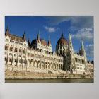 Ungarisches Parlament Poster