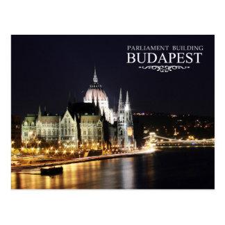 Ungarisches Parlaments-Gebäude, Budapest Postkarte