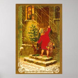 Ungarisches Weihnachten ab 1896 Poster