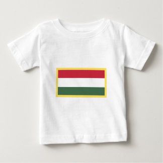 Ungarn-Flagge Baby T-shirt
